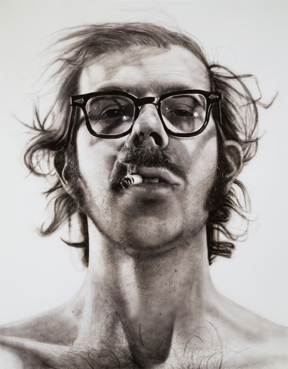 Chuck Close Discusses Big Self Portrait 1967 1968