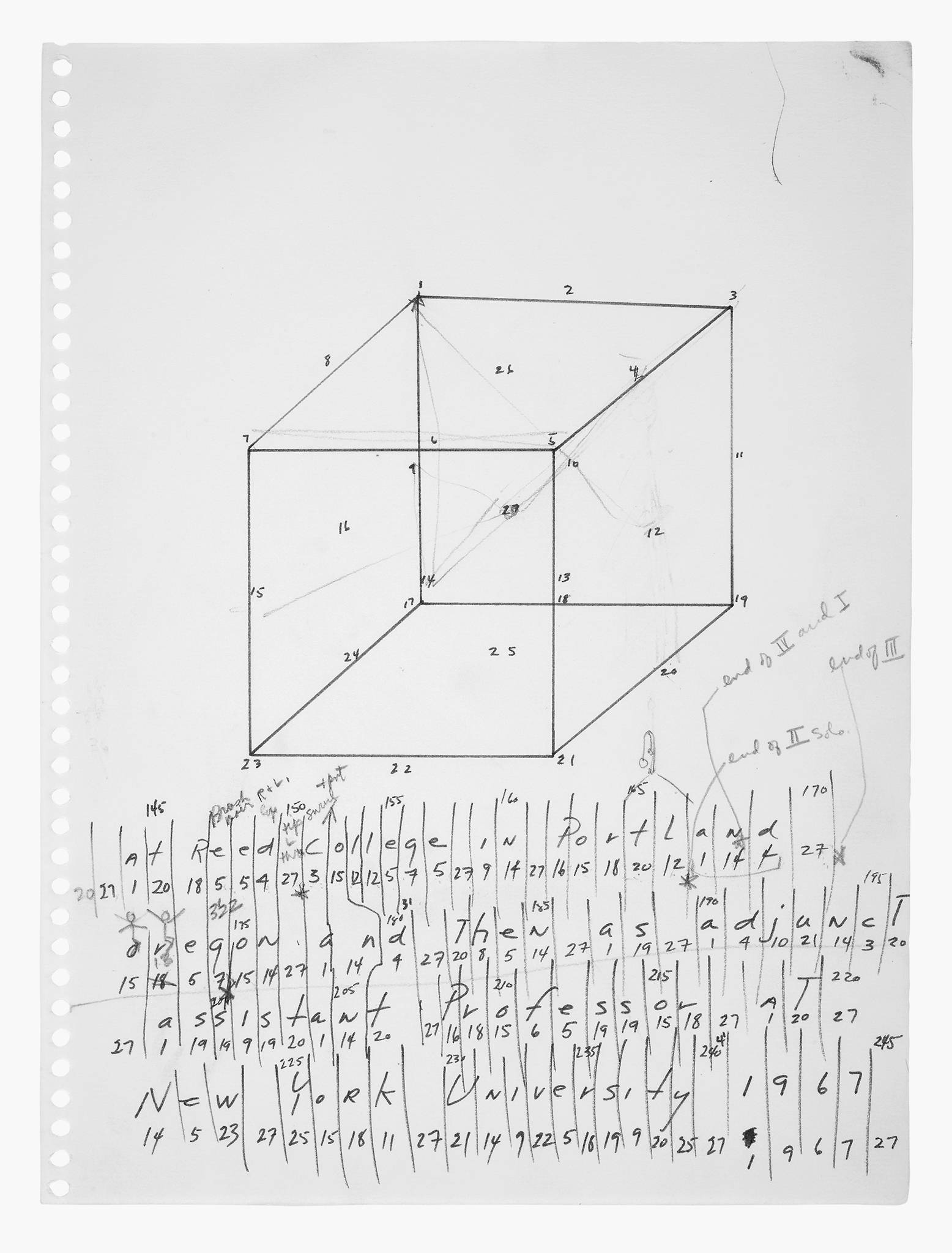 If You Couldnt See Me On Performativity Walker Art Center Draw A White Wire For Obvious Reasons Colors Dont Fig 12 Trisha Brown Untitled Locus 1975 Graphite Paper 18 X 15 1 9 16 In 5398 616 397 Cm Framed Collection The Artist