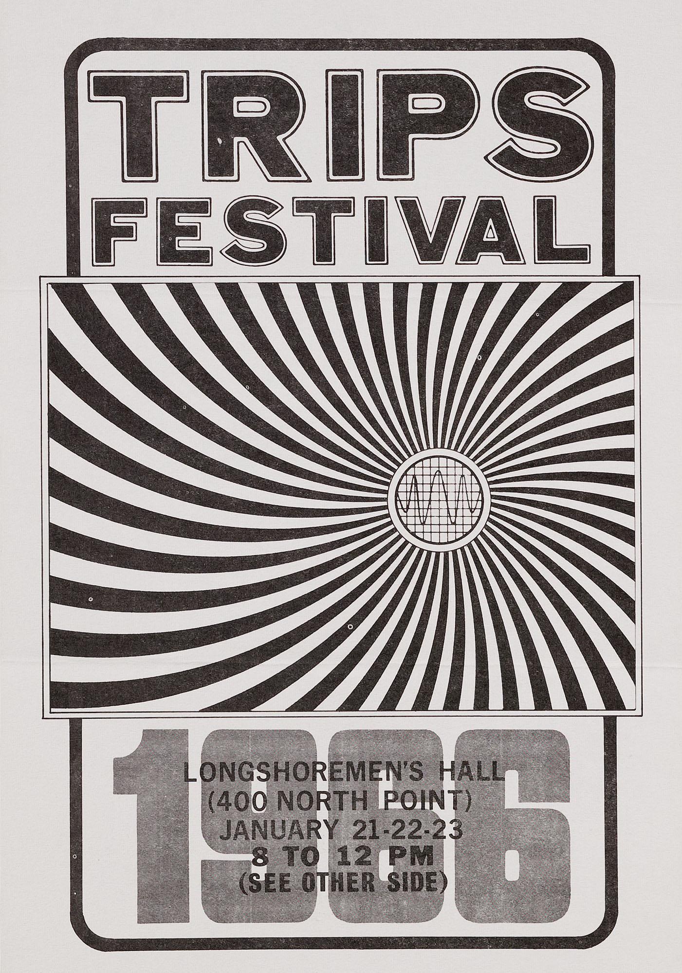 Wes Wilson,Trips Festival, Hippie Modernism, Walker Art Center